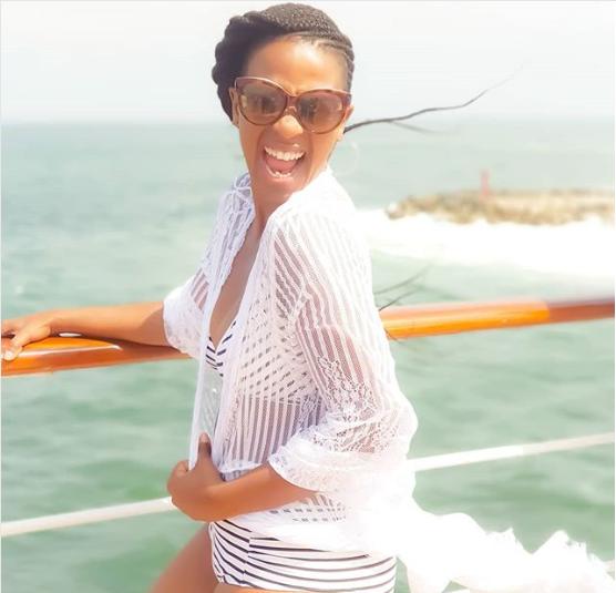 Pics! Actress Salamina Mosese Flaunts Hot Bikini Bod