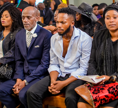 Pics! Behind The Scenes Of Uzalo's Manzuza's Funeral