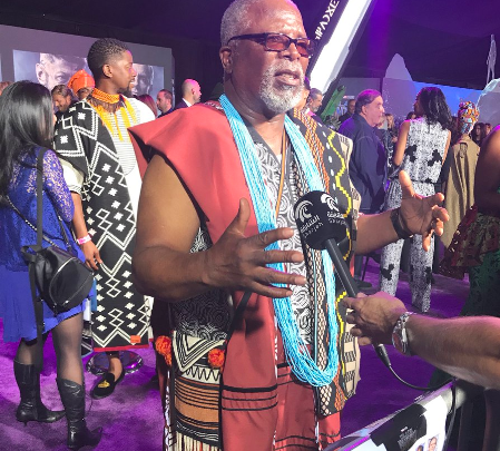 Dr John Kani Shares A Sweet Appreciation Post To His Wife