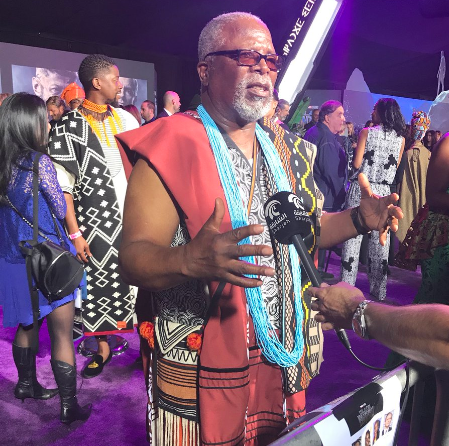 Here's Why Dr John Kani Didn't Take A Photo With Beyonce Whilst Working On The Lion King