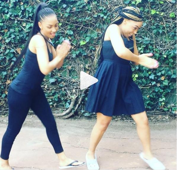 Watch! BFFs Simz Ngema And Jo-Anne Reyneke's Hilarious Sarafina Remake