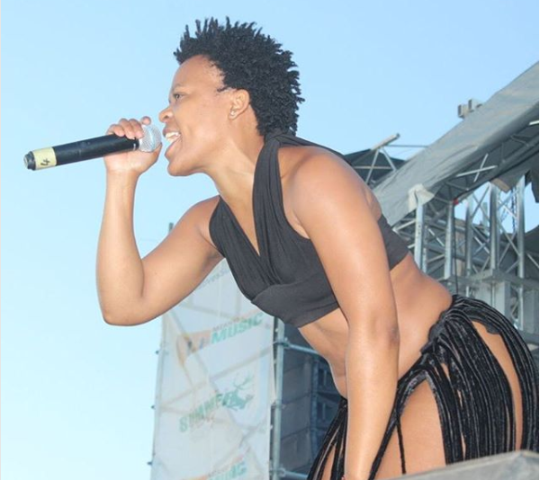 Watch! Zodwa WaBantu Calls Woman 'Sfebe' Before Snatching Her Wig