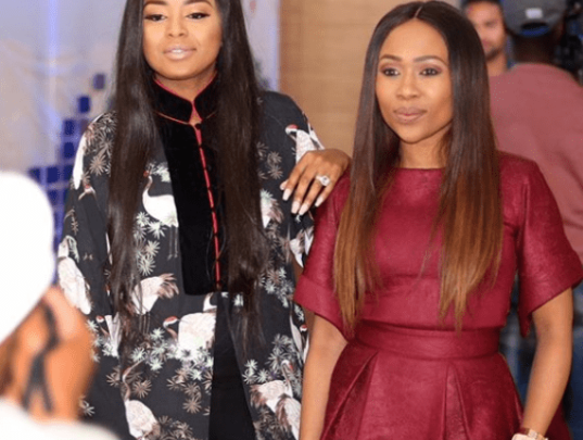 Lerato Kganyago And Dineo Ranaka Allegedly Fed Up With Each Other