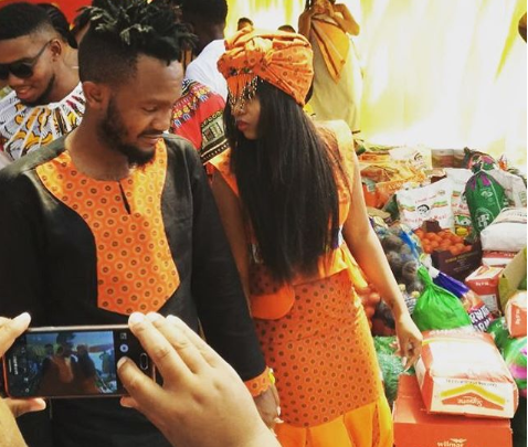 Pics! Inside Kwesta And Wife's Umbondo Ceremony