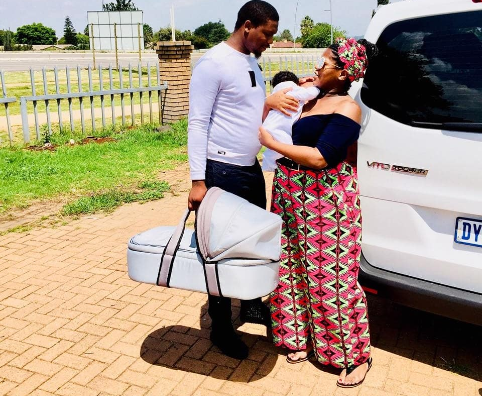 These Photos Of Busiswa And Her Little Family Will Make
