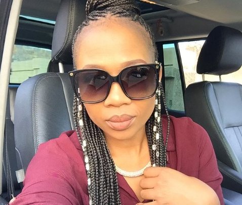 Dineo Ranaka Responds To Critics Calling Her Out For Drinking Beer