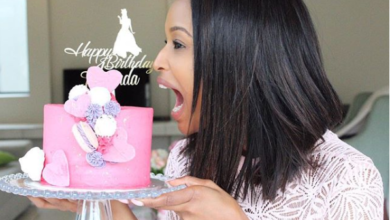 Pics! Inside Ayanda Thabethe's 32nd Birthday Celebrations
