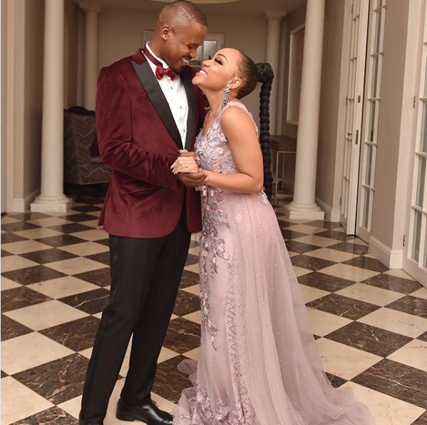 Pics! Inside Thando Thabethe And Her Fiance's Engagement Party