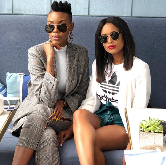 Pics! Lootlove And Ayanda Thabethe Live It Up In LA