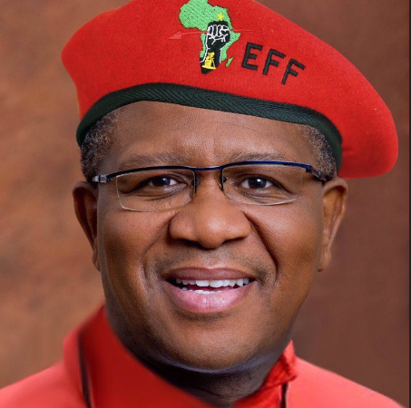 Social Media Reacts To Fikile Mbalula Tweeting 'Vote EFF'