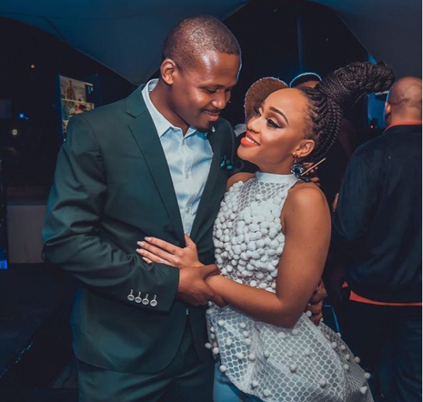 Thando Thabethe Sends Her Fiance The Sweetest Birthday