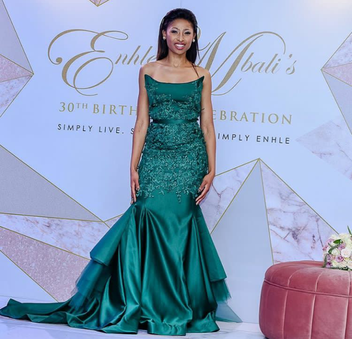 In Pics! Top 5 Enhle Mbali Looks Of All Time