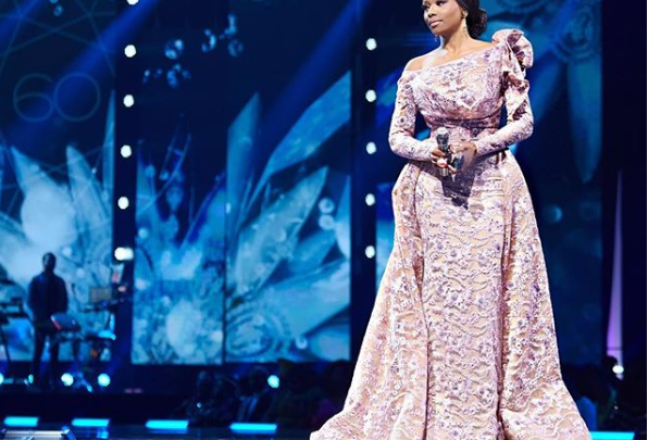 All Hail The Queen! Bonang Steals The Show At Miss SA 2018 Pageant