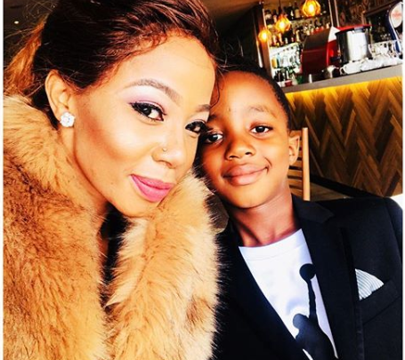 Kelly Khumalo Celebrates Her Son With Jub Jub's 8th Birthday