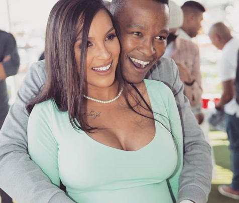 Pics! Inside Katlego Maboe And His Girlfriend's Baby Shower