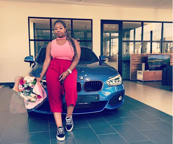 uzalo 39 s nocxy talks being judged for using uber before buying her car. Black Bedroom Furniture Sets. Home Design Ideas