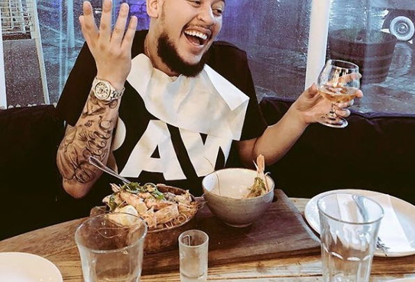 AKA Reacts To His Drama Queen Of The Year Nomination At The Feathers
