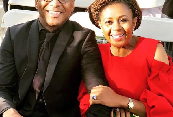 Basetsana Kumalo Receives Sweet Birthday Shoutout Fro Husband Romeo!