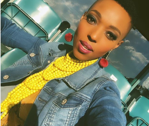 LOL! Check Out Pabi Moloi's Hilarious Response To Pregnancy Speculations