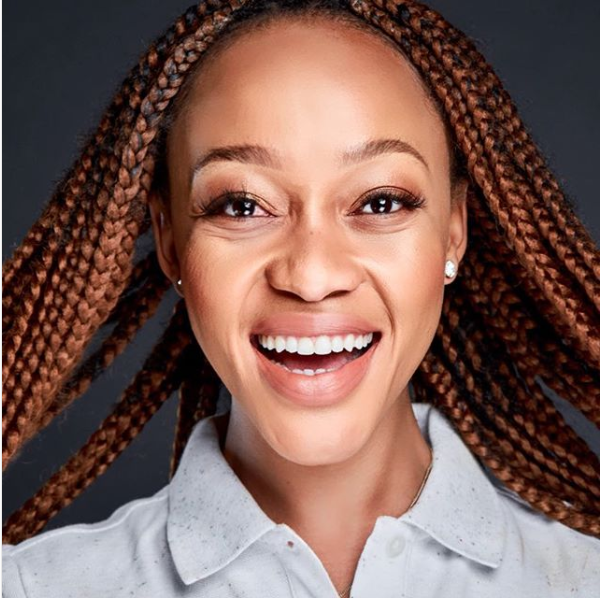 Thando Thabethe Reacts To Breaking Her SAFTAs Virginity With 2 Nominations