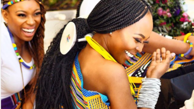 Photos! Actress Fulu Mugovhani Marries Musician Miza
