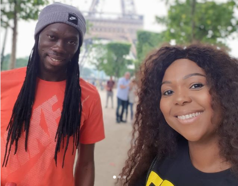 Pics! Inside Mpho Maboi And Yeye's Paris Getaway