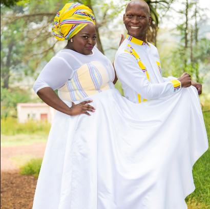 Pics! Inside Ring Of Lies' Shandukani and Stukkie's Traditional Wedding