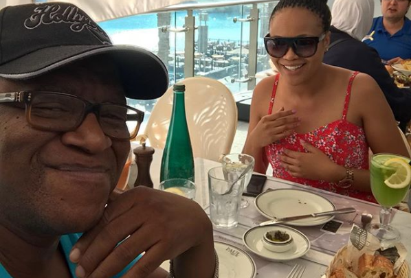 Pics! Lebo M Shows Off His New Girlfriend
