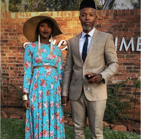 Pics! Thapelo Mokoena And His Wife Are Expecting Their Second Child