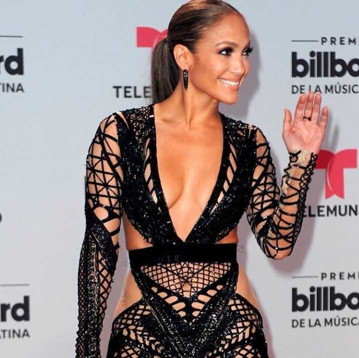B*tch Stole My Look! Zodwa Vs Jennifer Lopez: Who Wore It Better?
