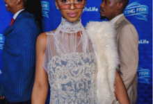 Nandi Madida Responds To Criticism Over Wearing Fur