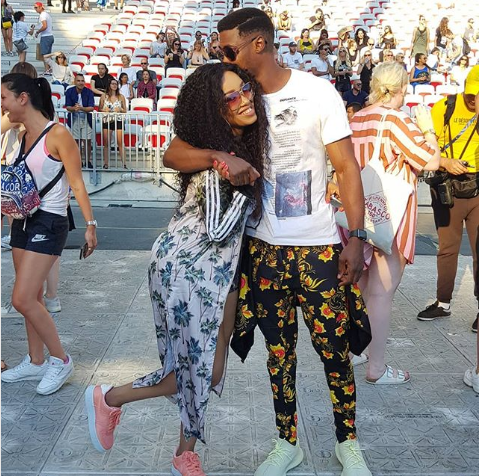 Pics! Dineo Moeketsi And Solo's Dreamy Baecation In France