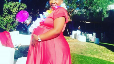 Pics! Nomsa Mazwai's Baby Is Finally Here