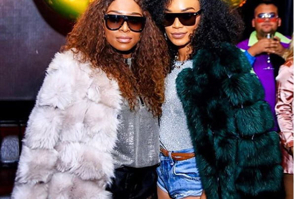 Watch! Zinhle Cries After Receiving he Sweetest Gift From BFF Pearl Thusi