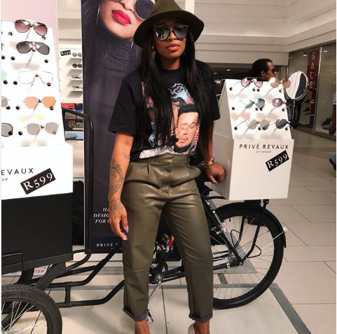 Zinhle Sets The Record Straight On Her Relationship With Bonang Before Scandal