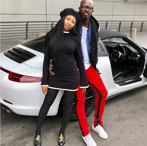 Watch! Enhle Mbali And Black Coffee's 'Music Is King' Entrance Screams Iconic, Power Couple