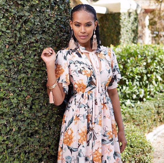 Gail Mabalane Opens Up About Her Own Stalker Situation