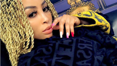 Ouch! Khanyi Mbau Responds To Her Hater Calling Her Fake