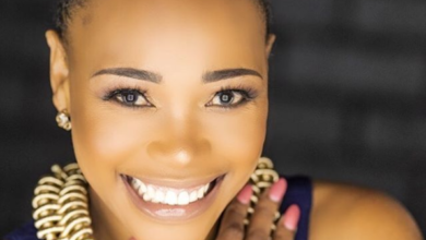 Pics! Sonia Mbele Slammed For Using A Phone At A Fuel Station