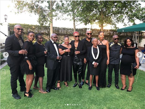 Pics Inside Somizi And Mohale S Engagement Dinner