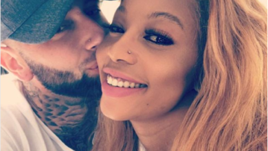 Kelly Khumalo And Chad Da Don Shuts Down Instagram With Extra Hot Photo