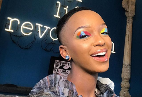 Pics! Nandi Madida Flaunts Growing Baby Bump At The SA Style Awards