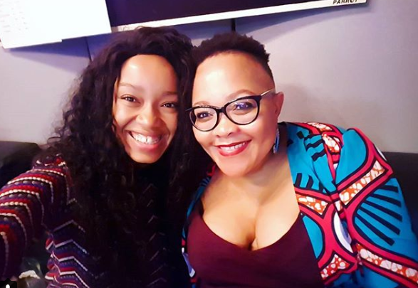 Dineo Moeketsi's Sweet Message To Her Mom On Her Birthday!