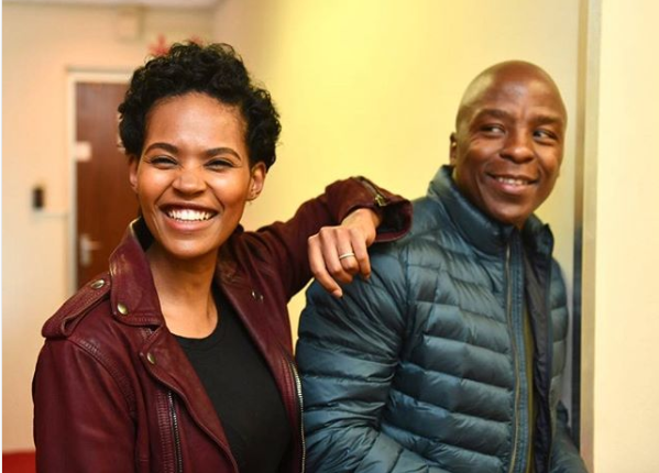 Gail Mabalane Gushes Over Her Husband In Sweet Birthday Post