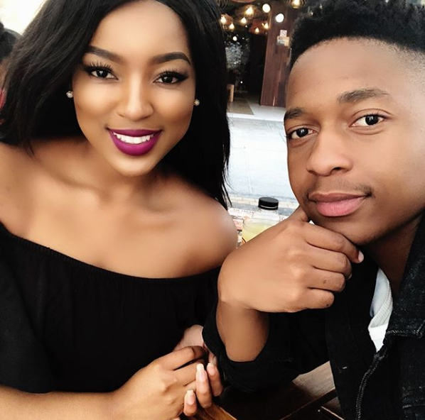 Anele Mdoda Sends Her Boyfriend The Sweetest Birthday: Housekeepers Mzansi's Lorraine Moropa Sends Her Boyfriend