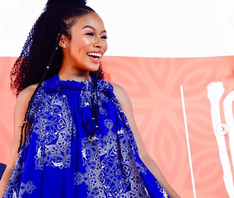 Ouch! Nomzamo's Cold Claps Back At Twitter Troll