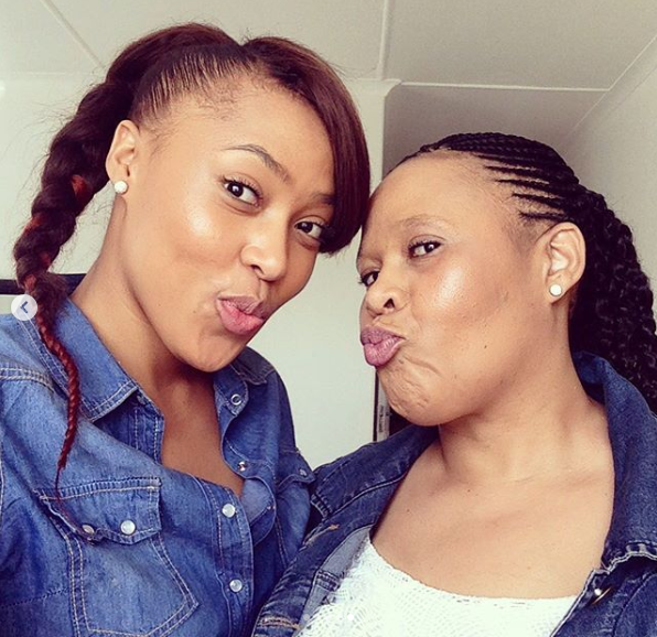 Simphiwe Ngema Sends Her Mom A Lovely Birthday Shoutout