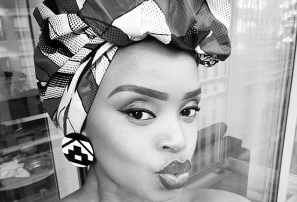 Pics! Zoleka Mandela Shares Adorable Photos Of Her New Miracle 5th Baby