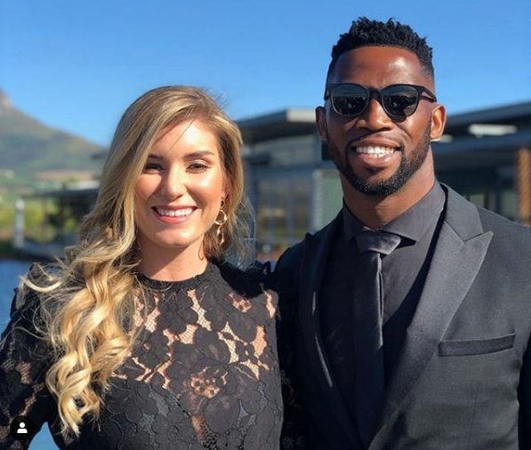 Siya Kolisi Sends His Wife Rachel A Powerful Birthday