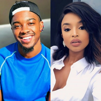 Flirting Or Good PR? See Ayanda And Tino Chinyani Flirtatious Exchange